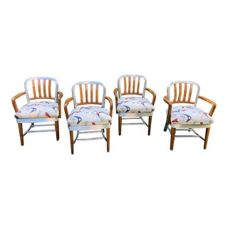 1940s Vintage Shaw-Walker Model 8320-Ps Industrial Chairs- a Set For Sale