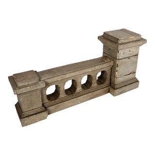 Victorian European Photographer's Bench