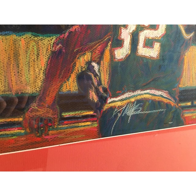 Contemporary Celtics Basketball Painting For Sale - Image 3 of 5