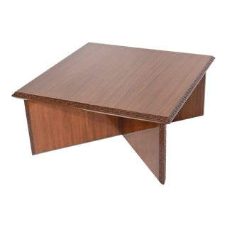 "American Modern ""Taliesin"" Square Low Table, Frank Lloyd Wright"
