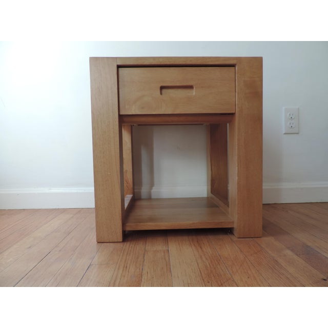This Japanese nightstand with a spacious drawer and shelf is the perfect expression of simplicity and beauty for your...