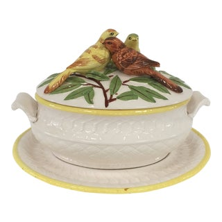 Bird Soup Tureen For Sale