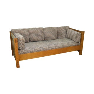 Stickley Mission Oak Settee Settle Sofa