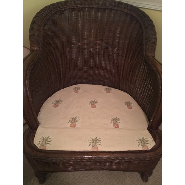 Lexington Casual Willow Chair and Ottoman - Image 3 of 8
