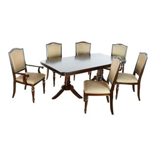 Federal Style Wood Dining Set For Sale