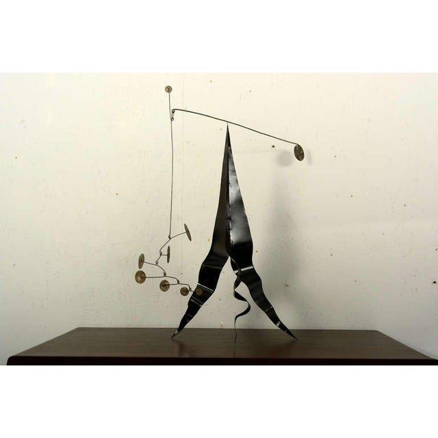 Modern Mobile Table Sculpture For Sale - Image 3 of 6