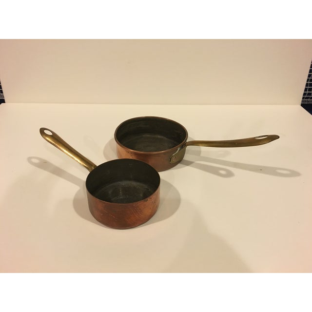 Vintage Copper Pots & Pans - Set of 8 - Image 5 of 9
