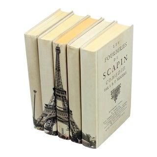 Sarried Ltd Eiffle Tower Books - Set of 5