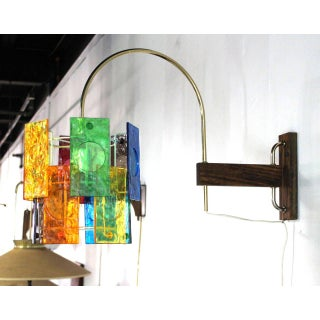 Mid-Century Modern Colorful Wall Sconce Light Fixture Preview