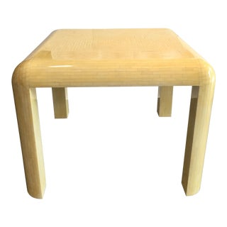 Enrique Garcel Bone Tessellated Table For Sale