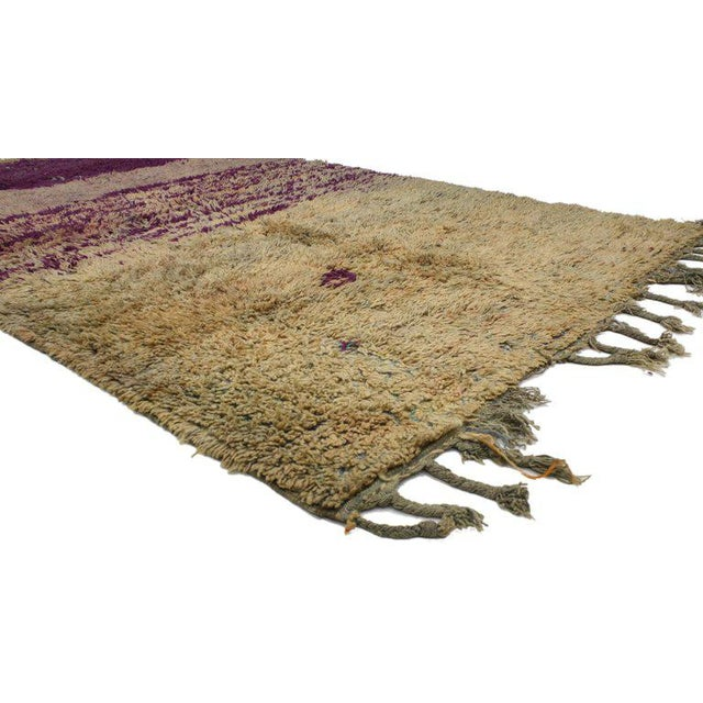 20519, Vintage Berber Moroccan Rug with Postmodern Memphis Style. This hand knotted wool vintage Berber Moroccan rug...