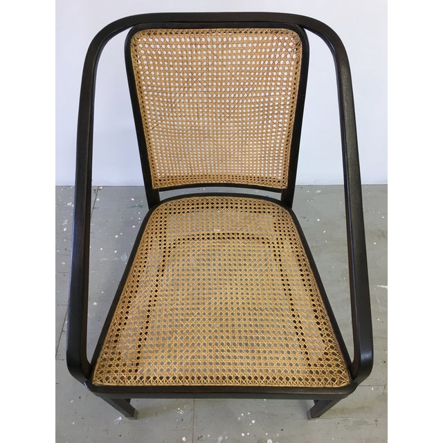 Josef Hoffmann Caned Side Chair For Sale In Philadelphia - Image 6 of 13