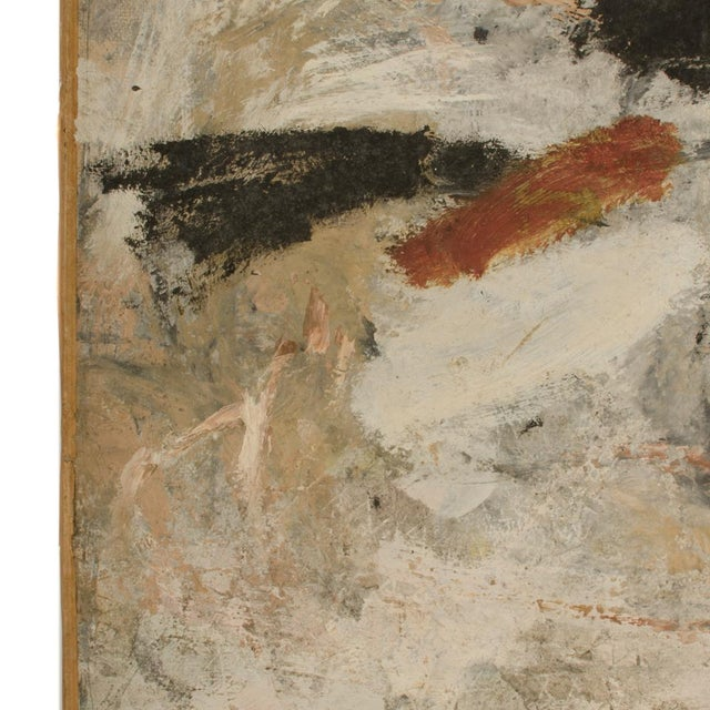 Canvas Mid 20th Century Abstract Oil Painting by Newton Haydn Stubbing For Sale - Image 7 of 13