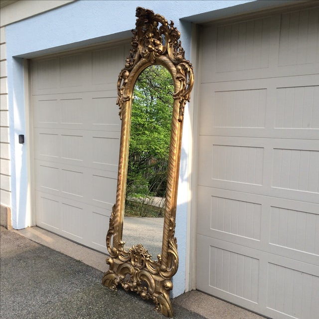 Italian Gilt Pier Mirror - Image 3 of 11