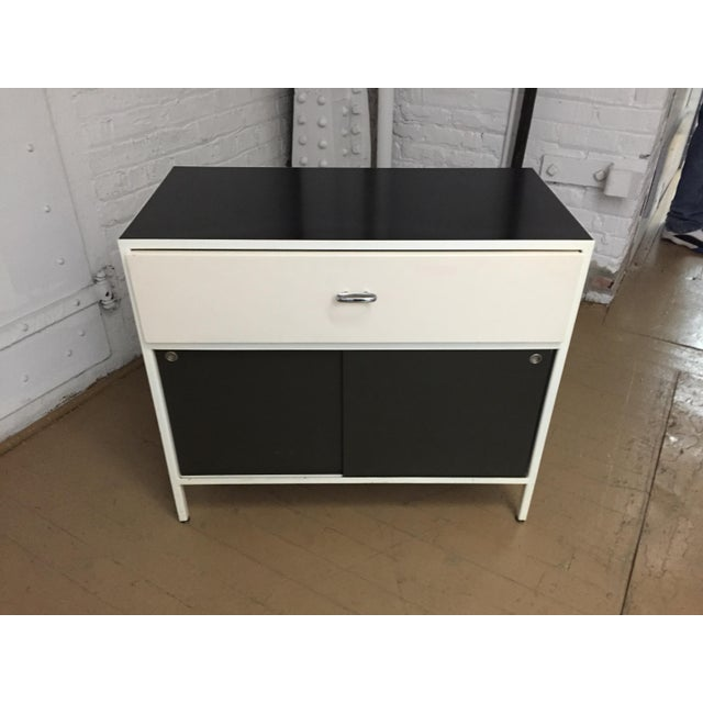 Authentic George Nelson for Herman Miller Steelframe Nightstand or Side Table For Sale - Image 11 of 11