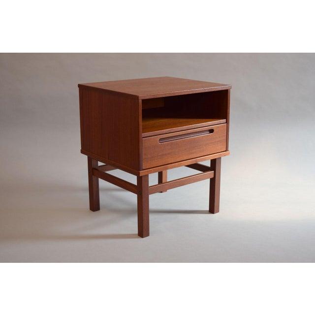 Nils Jonsson Teak Nightstand or Side Table - Image 2 of 8