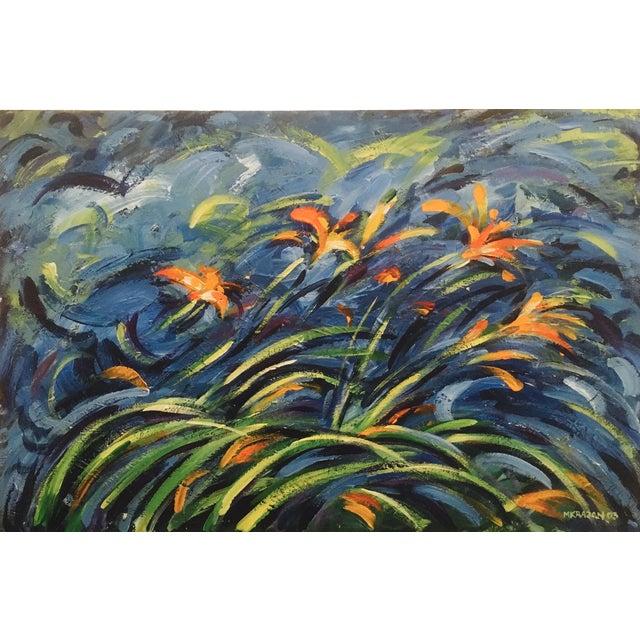 Original Expressionistic Impasto Painting - Image 1 of 8