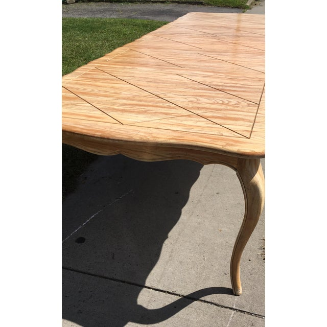1950s French Country Style Long Dining Table For Sale - Image 10 of 13