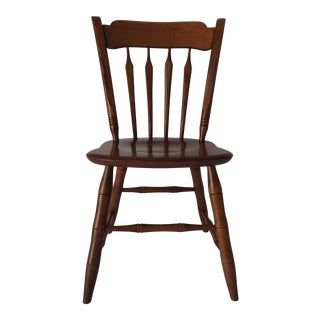 Ethan Allen Country Thumb-Back Dining Chair