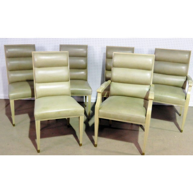 Set of 6 Mid Century Modern Dining Chairs For Sale - Image 9 of 9