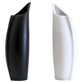 "Lino Sabattini for Rosenthal ""Penguin"" Vases - a Pair For Sale"