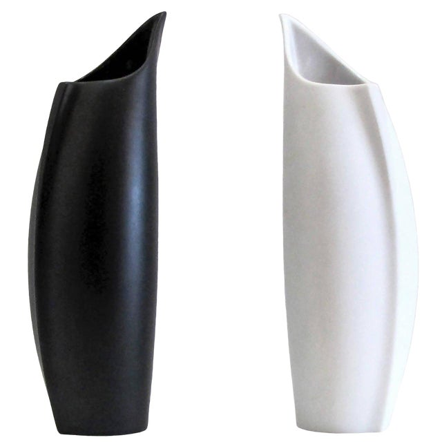 "Lino Sabattini for Rosenthal ""Penguin"" Vases - a Pair For Sale"