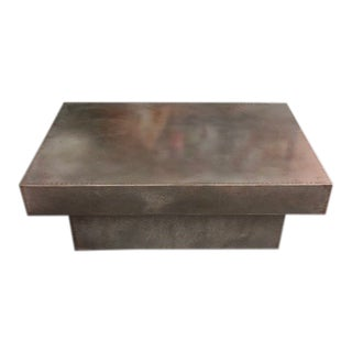 Zinc Coffee Table For Sale