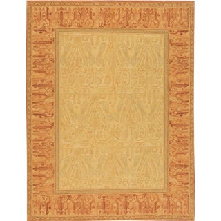 """21st Century Contemporary Indian Rug , 9'1"""" X 11'9"""" For Sale"""