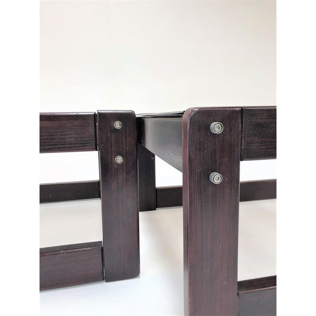 1960s Mid-Century Modern Percival Laver Rosewood and Glass Side Tables - a Pair For Sale In Los Angeles - Image 6 of 13