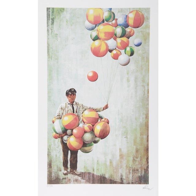 Modern Vic Herman, High Hopes, Lithograph For Sale - Image 3 of 3