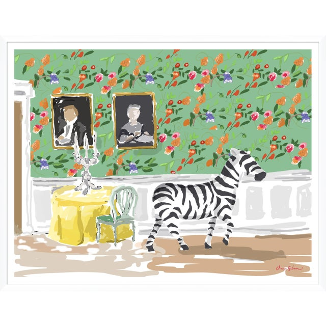 """Contemporary """"Lost"""" By Dana Gibson, Framed Art Print For Sale - Image 3 of 3"""