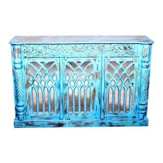 Jodhpur Blue Sideboard Credenza Buffet