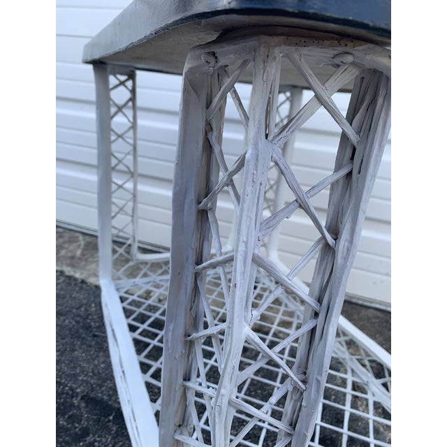Mid Century Russell Woodard Spun Bar Cart For Sale In Miami - Image 6 of 10