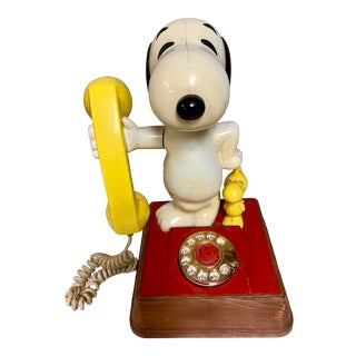 1976 Snoopy and Woodstock Phone For Sale