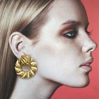 80s Statement Earrings by Pierre Cardin Preview