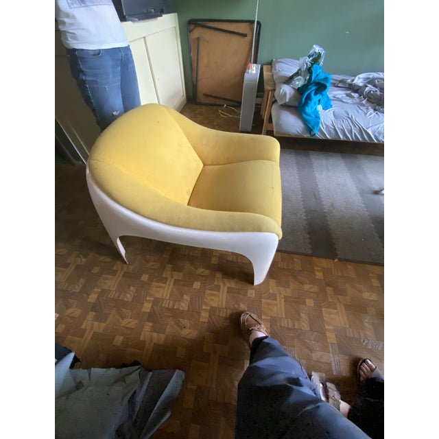 Mid-Century Modern 1960s Sergio Mazza Lounge Chairs - A Pair For Sale - Image 3 of 7