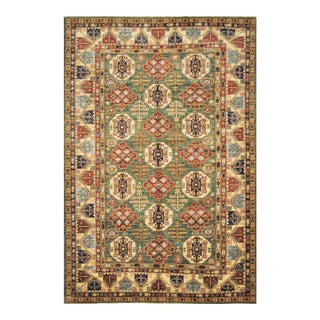 "Caucasian Shirvan Wool Handmade Area Rug - 6'10"" X 10' For Sale"