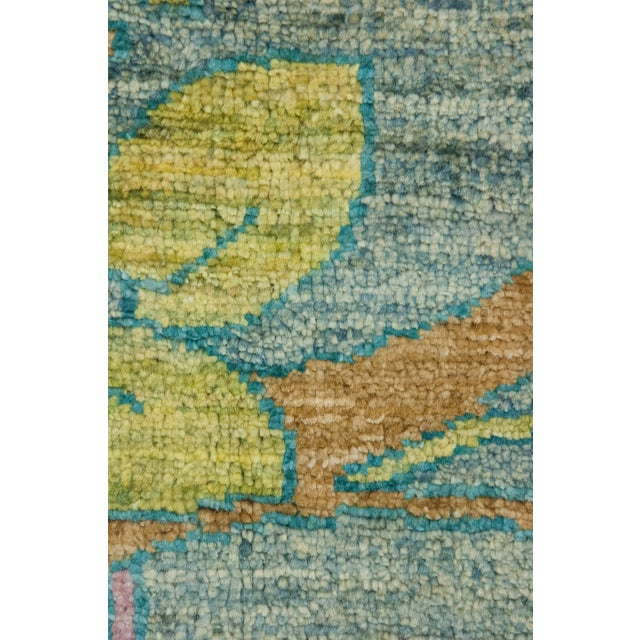 "Arts & Crafts Arts & Crafts Hand Knotted Area Rug - 9'1"" X 11'7"" For Sale - Image 3 of 3"