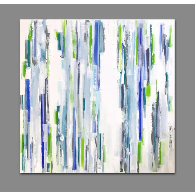 'Symbiosis' Original Abstract Painting by Linnea Heide For Sale - Image 4 of 8