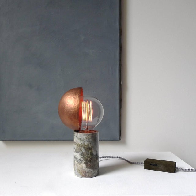 2010s Marble Table Lamps, Sander Bottinga For Sale - Image 5 of 9