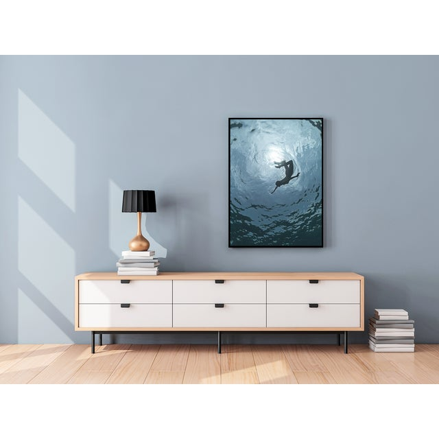 "Contemporary ""Rotation"" Framed Print on Rag Paper by Enric Gener For Sale - Image 3 of 5"