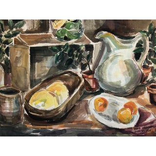 Mid-Century Still lIfe by Yoko Hirohata, 1954 For Sale