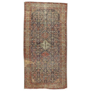 19th Century Persian Farahan Gallery Rug For Sale