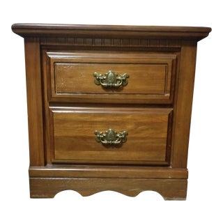 Vintage Wooden Small Dresser For Sale