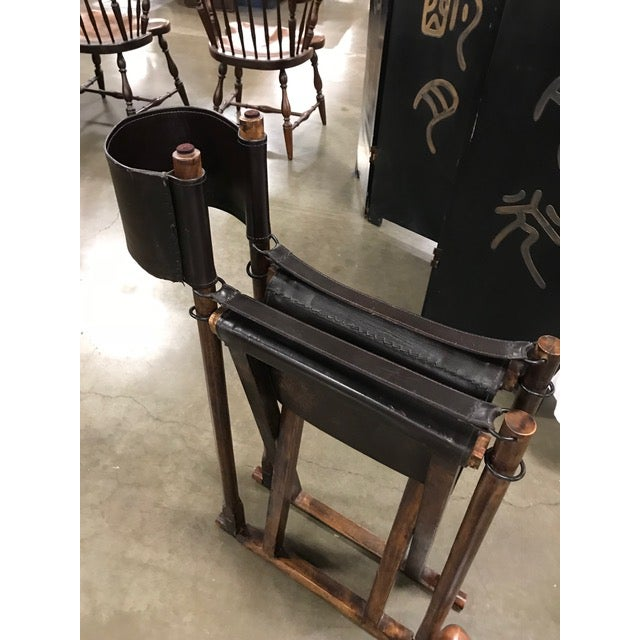 1930s 1930s Vintage Mogens Koch Danish Modern Collapsible Safari Chair For Sale - Image 5 of 7