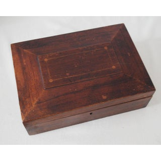 19th Century Antique Wooden Shaker Sewing Box Preview