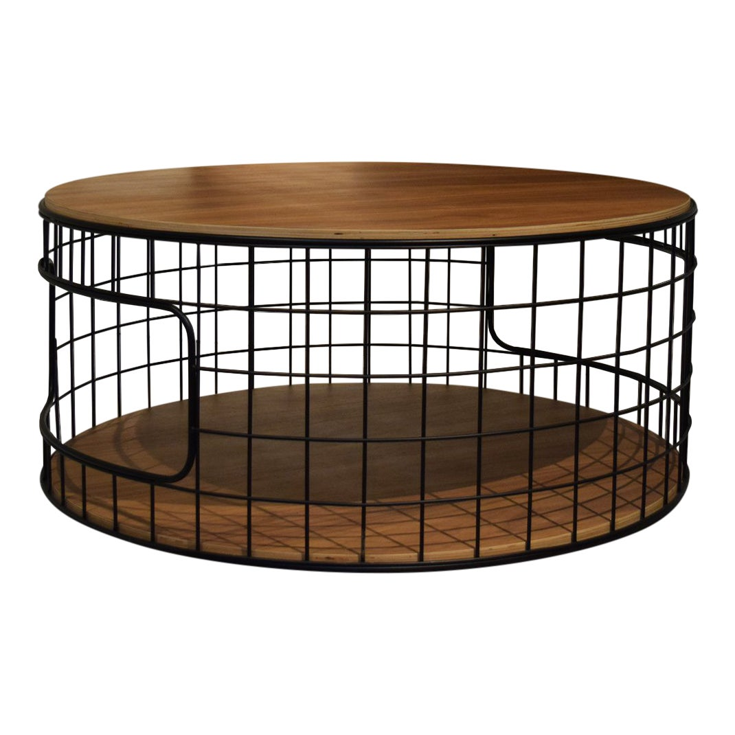 Wire Frame Coffee Table.Mid Century Modern Gus Wireframe Coffee Table
