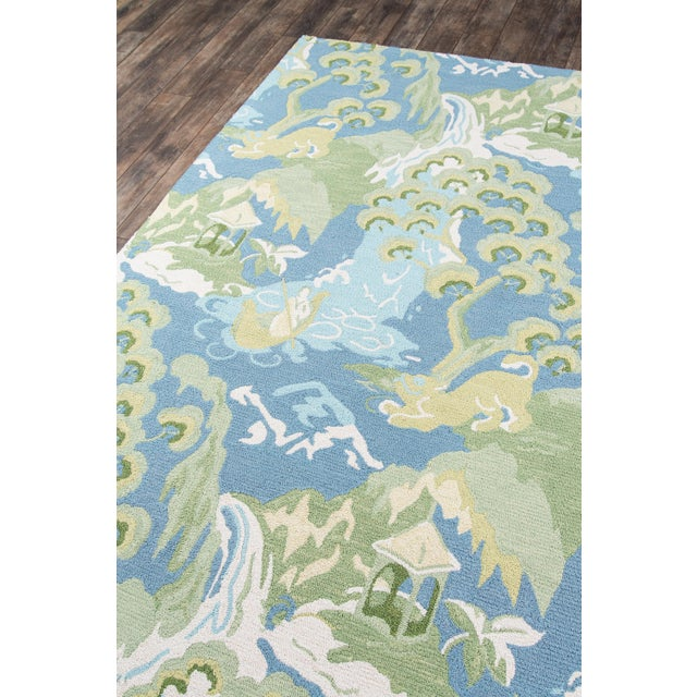 Contemporary Madcap Cottage Embrace Blue Area Rug 5' X 8' For Sale - Image 3 of 8