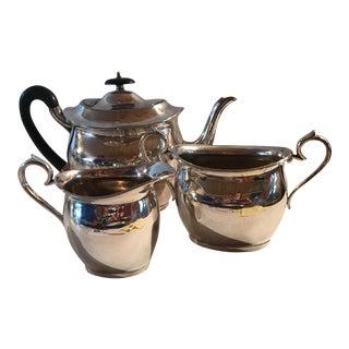 Hammond, Creake Silver Tea Set - Set of 3 For Sale