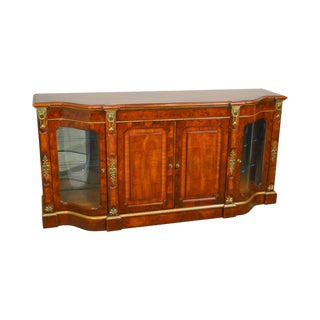 Henredon Grand Provenance Collection French Louis XV Style Walnut Sideboard (B) For Sale